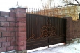 Кованые ворота ВК-08