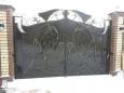 Кованые ворота ВК-11