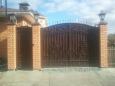 Кованые ворота ВК-12
