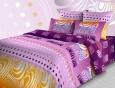 Комплект постельного белья 2,0 сп. Бязь Яркая абстракция вид 2 от ТМ