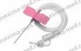 Бабочка для вливания в малые вены 18G (розовый)