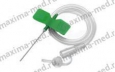 Бабочка для вливания в малые вены 21G (зеленый)