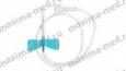 Бабочка для вливания в малые вены 23G (синий)