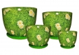 Горшки цветочные керамические Барилка Ромашки