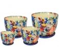 Набор керамических горшков Барилка Букет амура