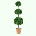 Искусственное дерево самшит шар тройной