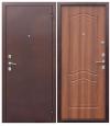 Дверь металлическая Гарда Рустик дуб