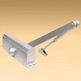 Доводчик KORAL  601 0-30 кг серый (601-031)