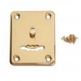 Накладка Апекс DP-S-01-G-shutter (сувальдный ключ) золото со шторкой