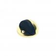 Ограничитель двери 906 (833) полусфера золото\40 (602-015)