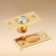 Фиксатор двери шариковый золото мал (602-012)