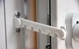 Ограничитель открывания окна пятипозиционный, гребенка, белый (F5002)