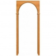 Межкомнатная арка с углами ламинированая