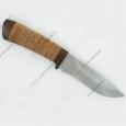 Охотничий нож Н6 из стали ЭИ-107, береста наборная, текстолит