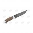 Охотничий нож Н8- «Спецназ» из дамаска, орех, дюраль