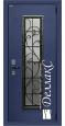 Стальная дверь Кованая филенка КФ-151