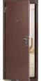 Стальная дверь ДС-184 Металл/металл