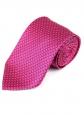 Галстук 8 см розовый