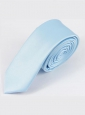 Галстук 5см однотонный голубой