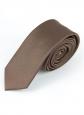 Галстук 5см коричневый