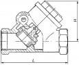 Клапаны обратные латунные 19б1р