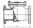 Клапаны обратные стальные 19с17нж