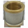 Муфта латунь никель 9018 ГОСТ 32585-2013 Aquasfera