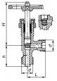 Клапаны запорные стальные 15с13бк1
