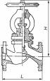Клапаны запорные стальные 15с22нж