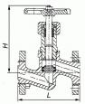 Клапаны запорные стальные 15с51п