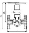 Клапаны запорные стальные 15с57нж