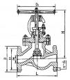 Клапаны запорные стальные 15с65нж