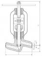 Клапаны запорные стальные 998-20-0