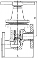 Клапаны запорные нержавеющие 14нж17ст1