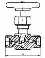 Клапаны запорные нержавеющие 15нж54бк