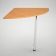 Соединительный сегмент для офисных столов 90° (600х600х750)