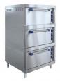 Трехсекционный жарочный шкаф ШЖЭ-3-К-2/1 (с конвекцией)