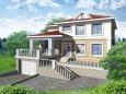 Проект дома из пеноблока АР-168
