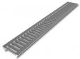 Решетка 100 стальная штампованная (без отверстий)