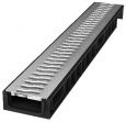 Лоток Ecoteck STANDART 100.65 h69 с решеткой пластиковой, кл.А15