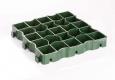 Газонная решетка  Ecoteck Maneg зеленая, в м2 - 9,18 модуля