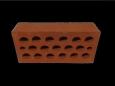 Кирпич пустотелый  (пустотность 12 %) М 100-150 рифленый
