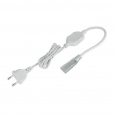 Аксессуары для светодиодной лентыСетевой шнур для ленты 220V 5050