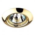 Встраиваемый светильник светильник GX5.3 50W 12V TOR 369113 NT09 279 золото