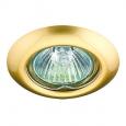 Встраиваемый светильник светильник GX5.3 50W 12V TOR 369114 NT09 279 м латунь