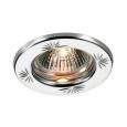 Встраиваемый светильник светильник IP20 GX5.3 50W 12V CLASSIC 369706 NT12 276 хром