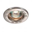 Встраиваемый светильник светильник IP20 GX5.3 50W 12V CLASSIC 369707 NT12 276 никель