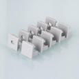 Комплект заглушек для квадратного углового алюминиевого профиля для светодиодной ленты (10 пар)ZLL-2-ALP003