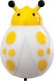 Ночник Feron 23249 божья коровка желтый