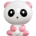 Ночник Feron 23254 панда розовый